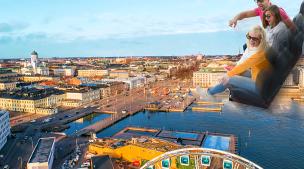 Flying Cinema Tour of Helsinki
