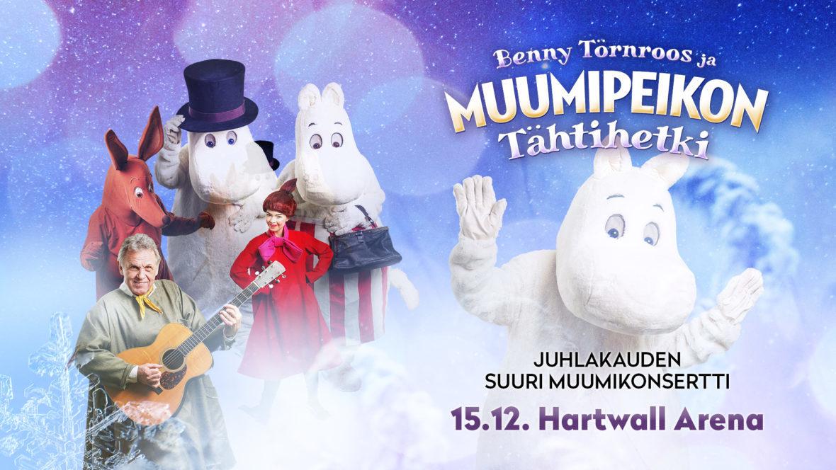 Benny Törnroos ja Muumipeikon tähtihetki