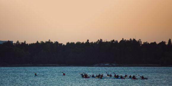 Kayak Canoe (c) Jussi Hellsten Visit Helsinki