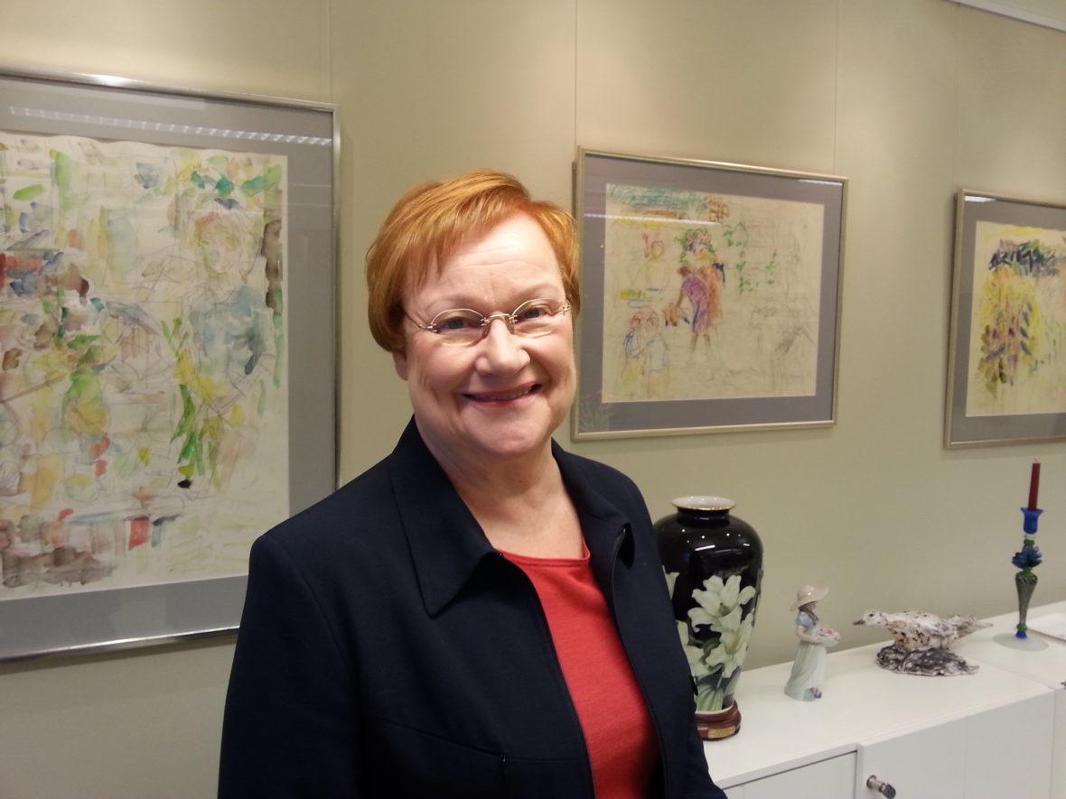 My Helsinki_Tarja Halonen