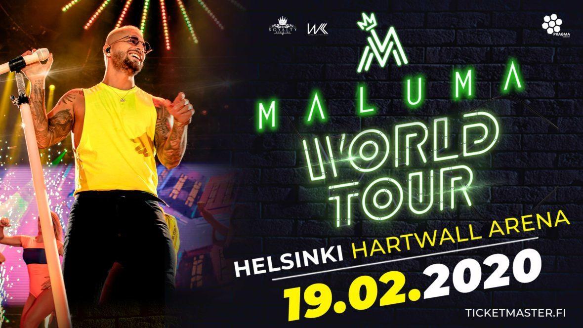 Maluma Tour 2020.Maluma 11 11 World Tour Helsinki This Week