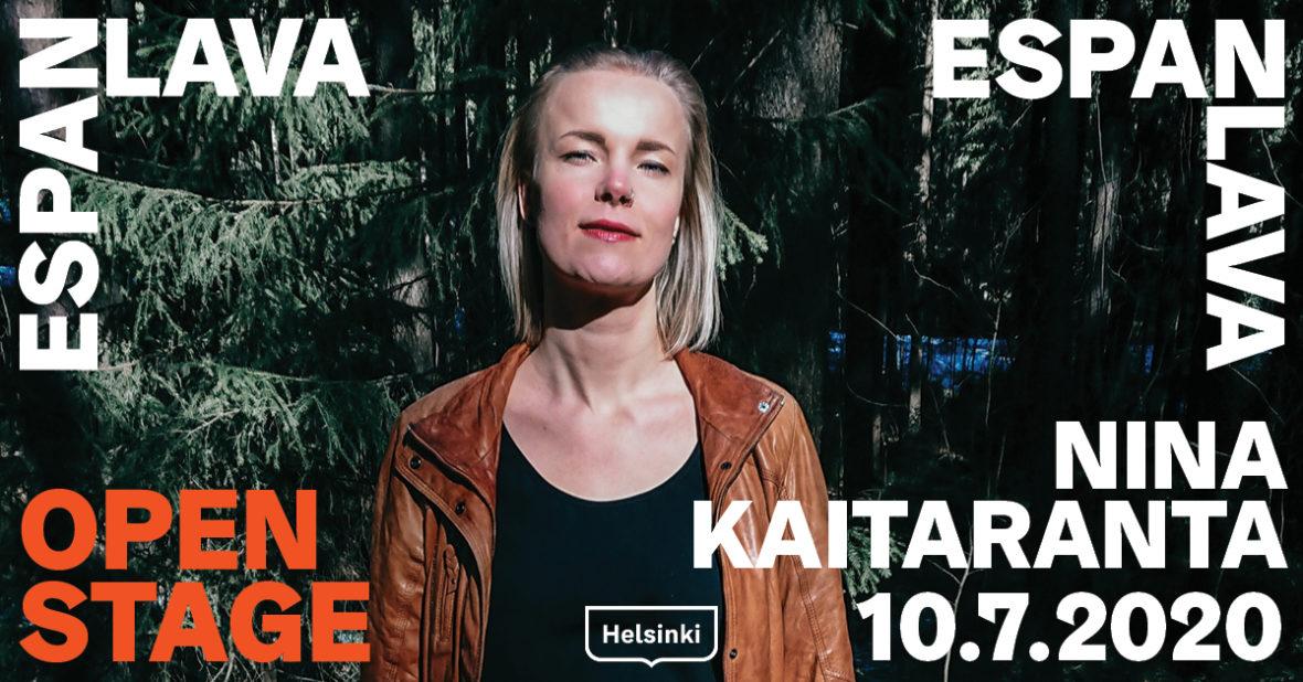 Open Stage: Nina Kaitaranta