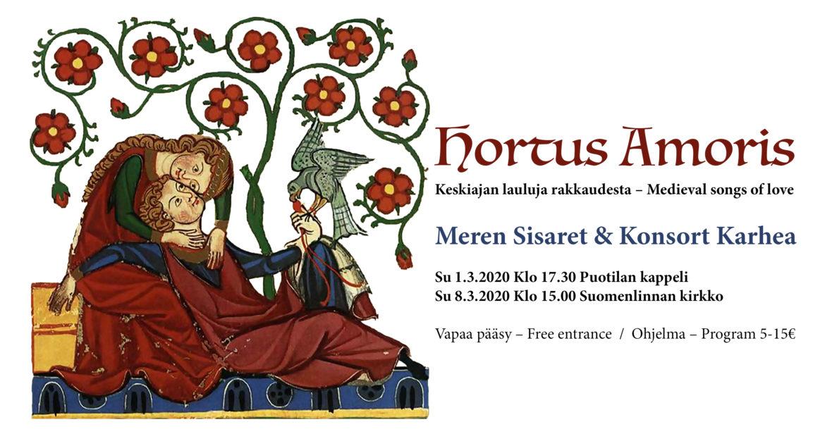 Hortus Amoris – Medieval songs of love