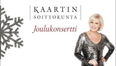 Kaartin soittokunnan ja Karita Mattilan joulukonsertti