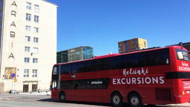 Helsinki Living & Design bus sightseeing