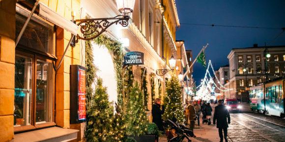 Christmas Shopping in Helsinki