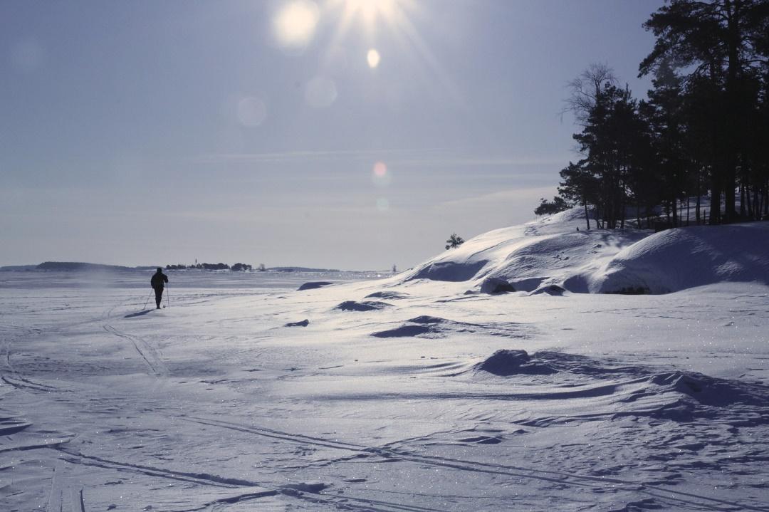 Wintery Helsinki