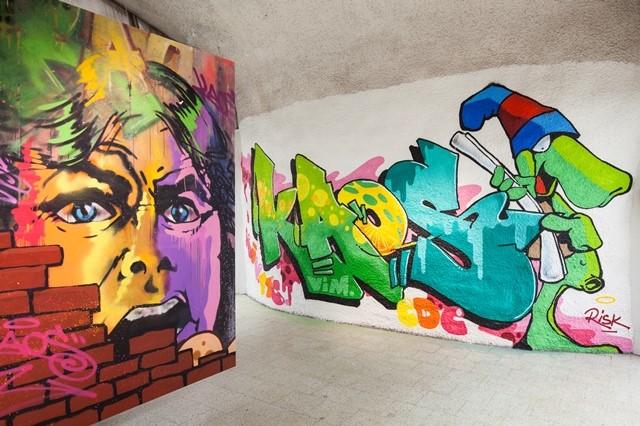 Art at Kamppi Metro Station