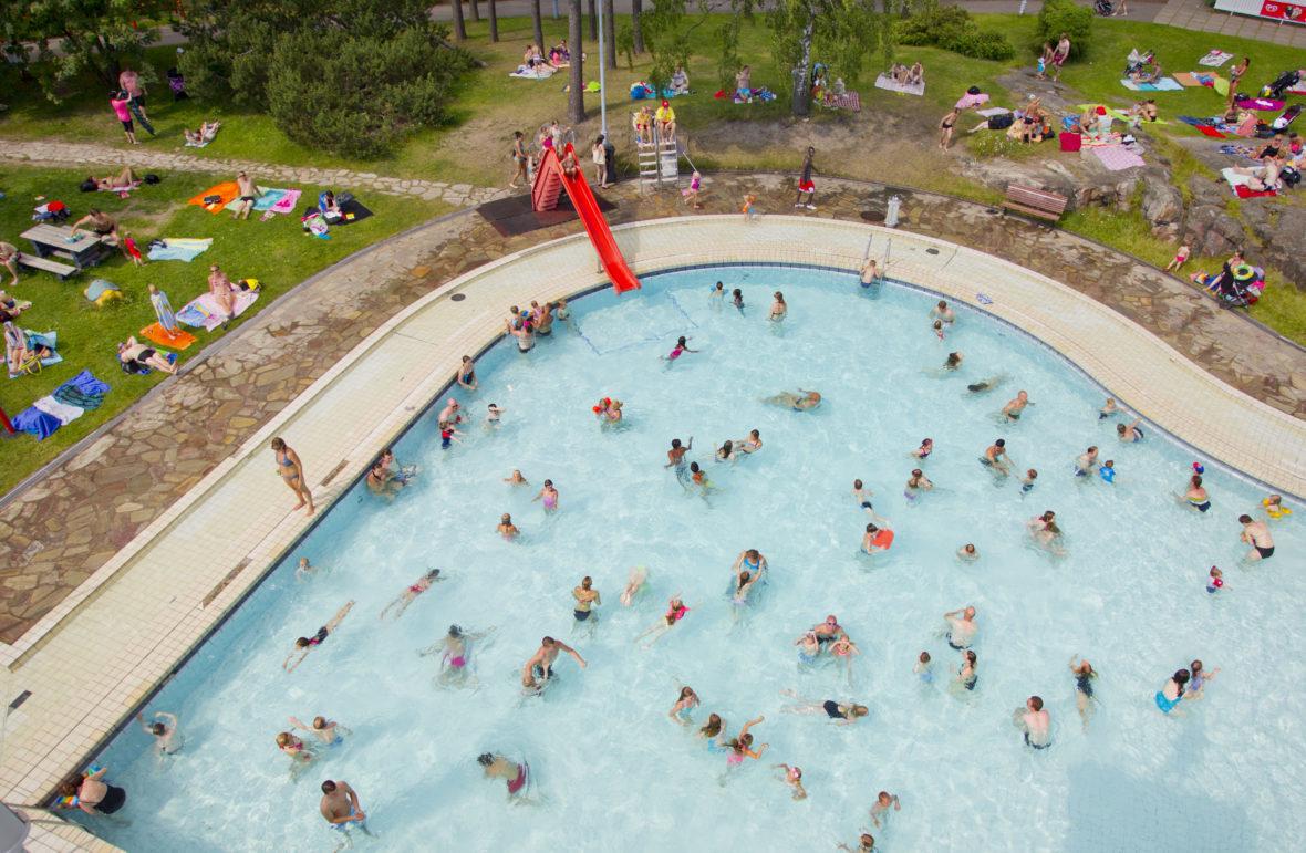 Swimming Stadium (c) Lauri Rotko / Helsinki City Image Bank