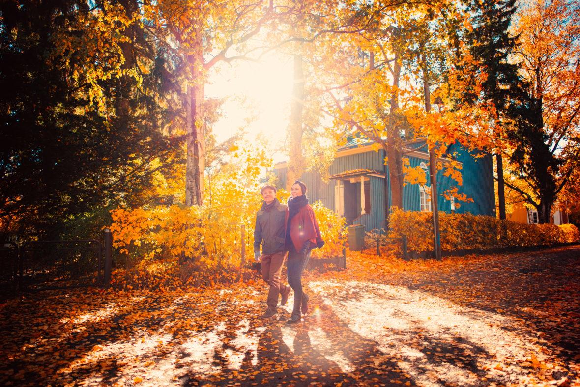 Walk in Helsinki