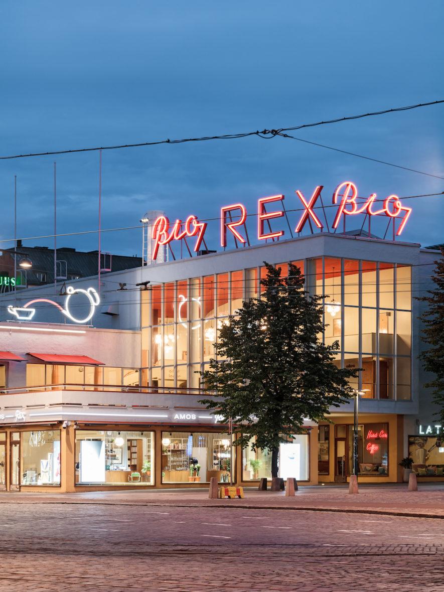 Lasipalatsi in Helsinki