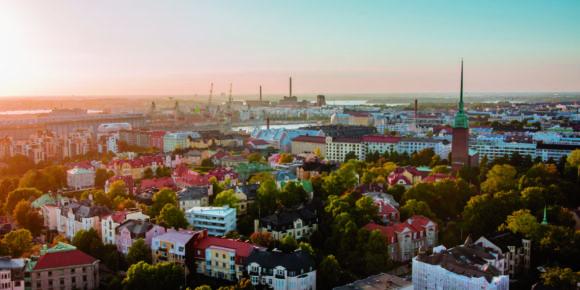 Helsinki Aerial Picture (c) Jussi Hellsten