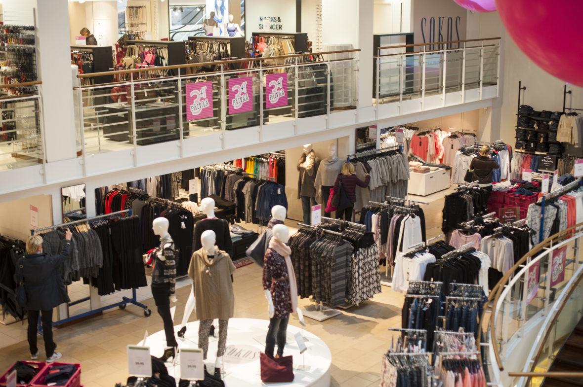 Sokos department store in Helsinki